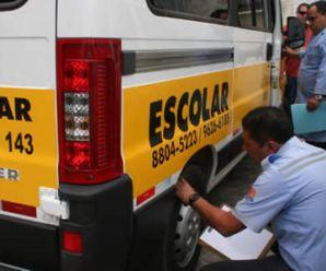 Motoristas de transporte escolar de Carapicuíba tem somente até hoje (24) para renovar alvará