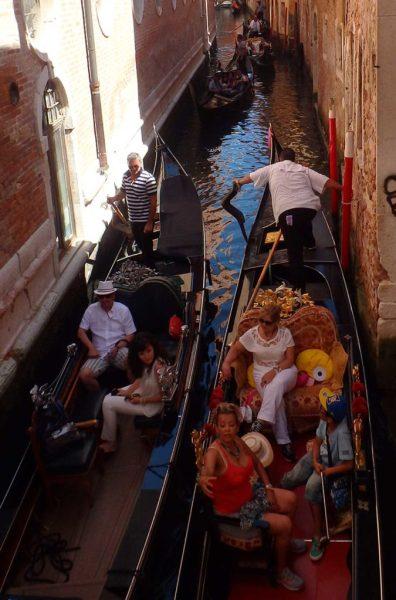 Decepções de viagem - Passeio de gôndola em Veneza (Itália)