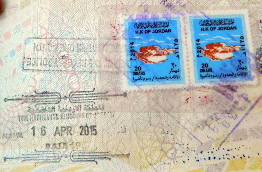 Precisa de visto para viajar à Jordânia?