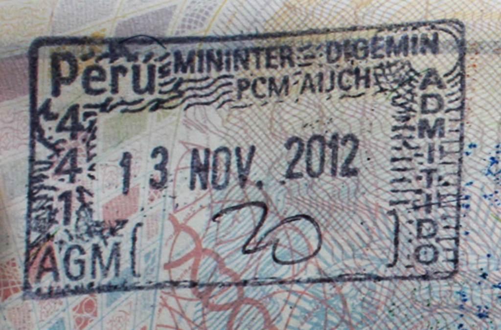 Precisa de visto para viajar ao Peru?