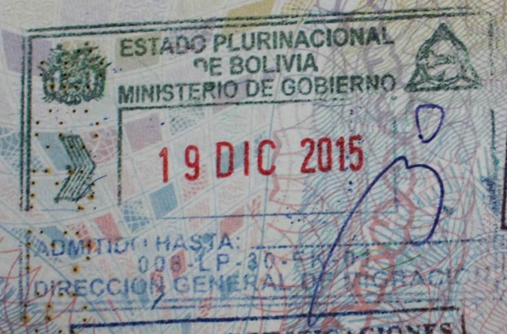 Precisa de visto para viajar à Bolívia?