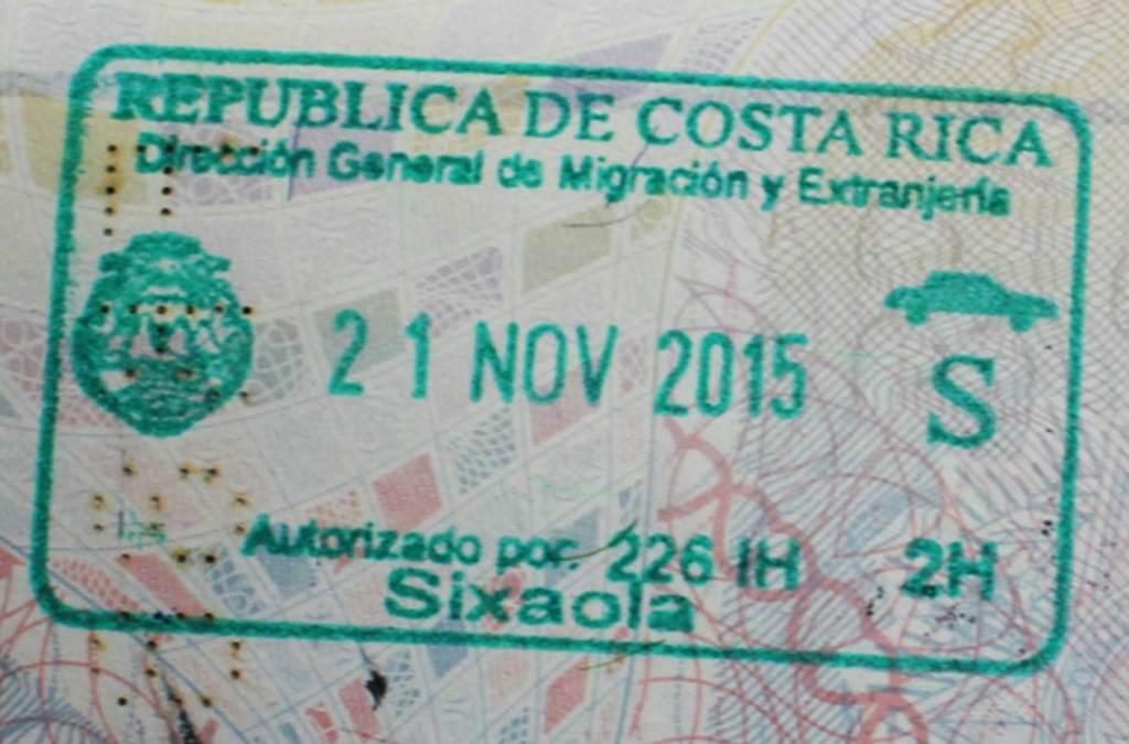 Precisa de visto para viajar à Costa Rica?