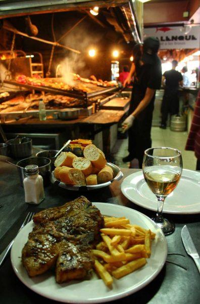 O que fazer em Montevidéu - Mercado del Puerto