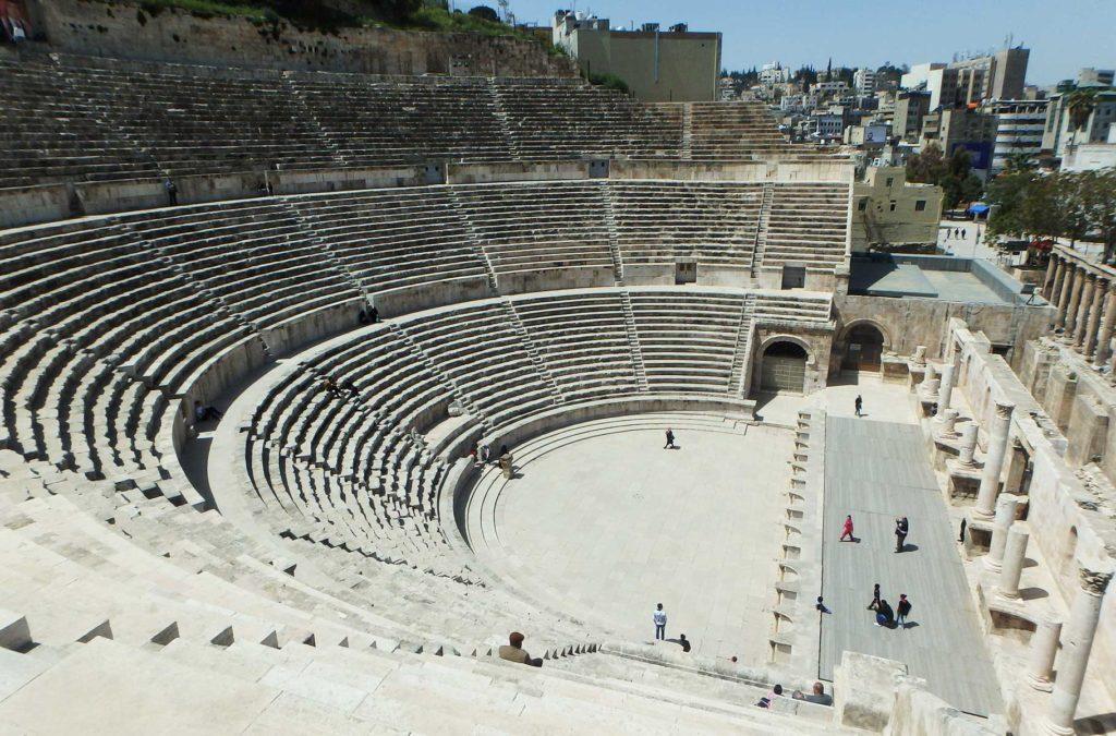 O que fazer na Jordânia - Anfiteatro de Amã