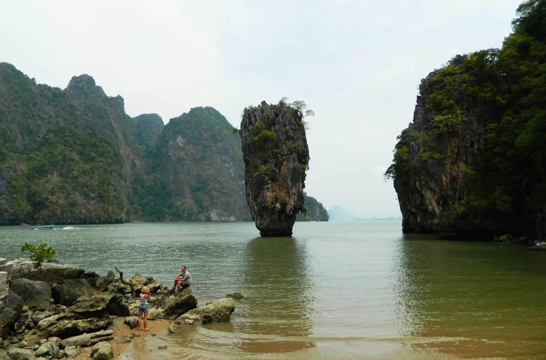 Roteiro de viagem pela Tailândia - James Bond Island (Railay Beach)
