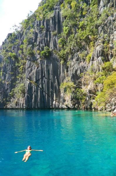O que fazer nas Filipinas - Lago Barracuda