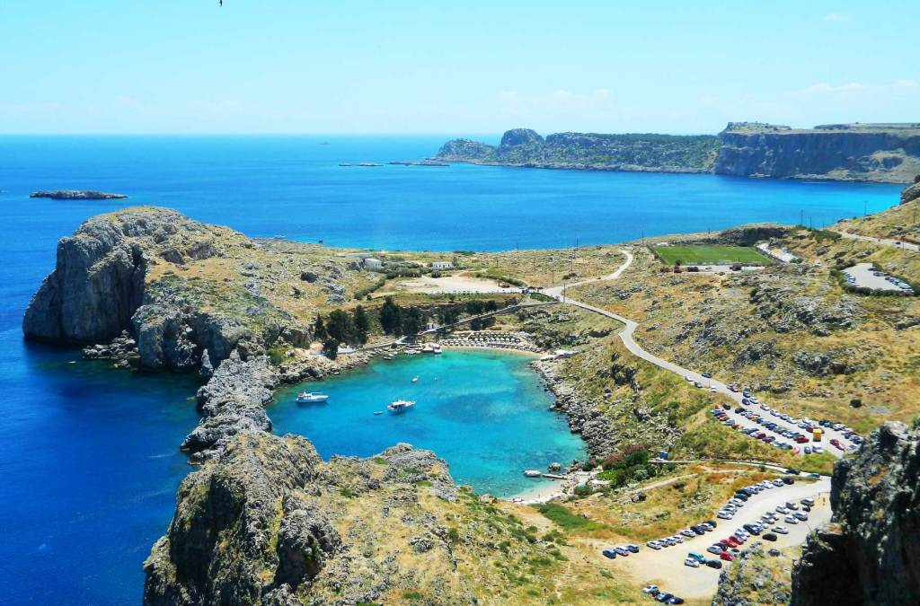 Praias mais bonitas da Europa - Saint Paul's Bay (Grécia)