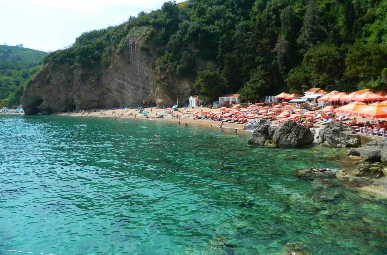 Praias mais bonitas da Europa - Mogren (Montenegro)
