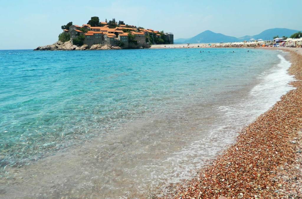 Praias mais bonitas da Europa - São Estêvão (Montenegro)