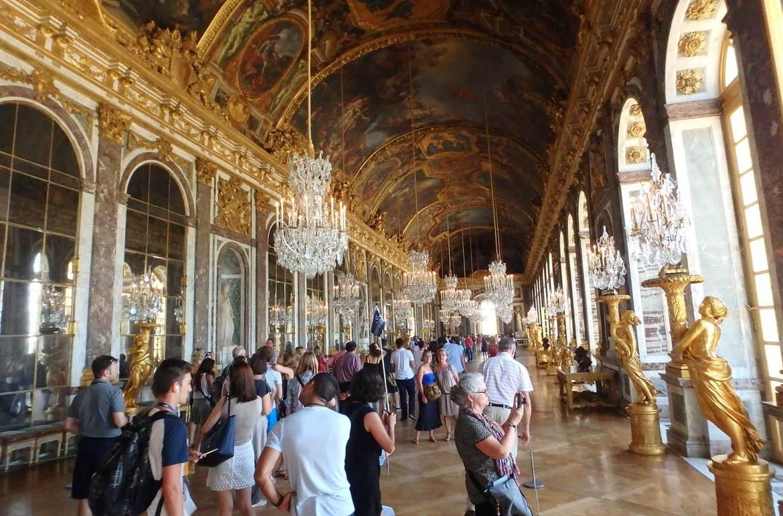 Verão na Europa pode ser roubada - Palácio de Versailles (França)