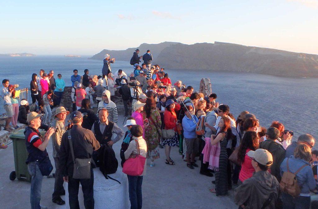 Verão na Europa pode ser roubada - Ilha de Santorini (Grécia)