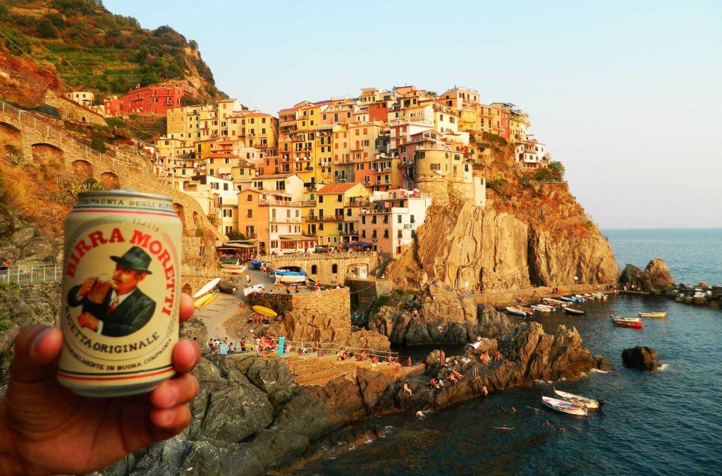 Verão na Europa pode ser roubada - Cinque Terre (Itália)