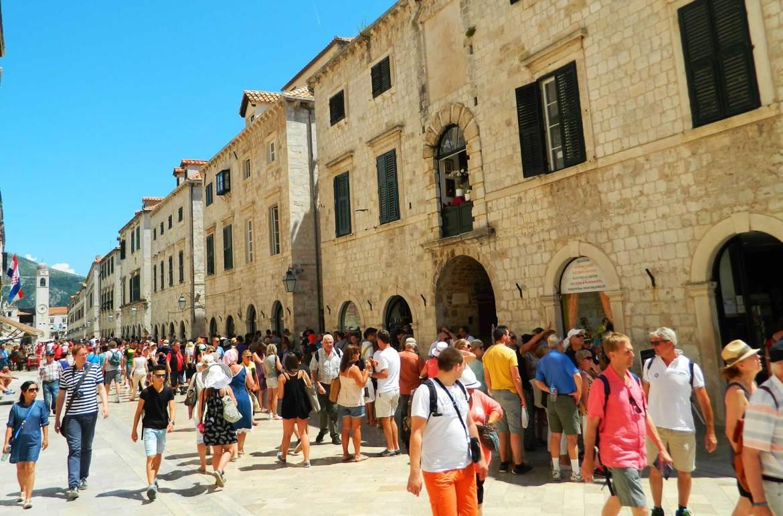 Verão na Europa pode ser roubada - Dubrovnik (Croácia)