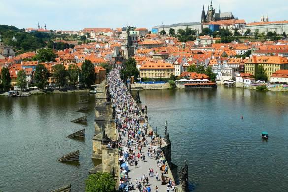 Verão na Europa pode ser roubada - Praga (Rep. Tcheca)