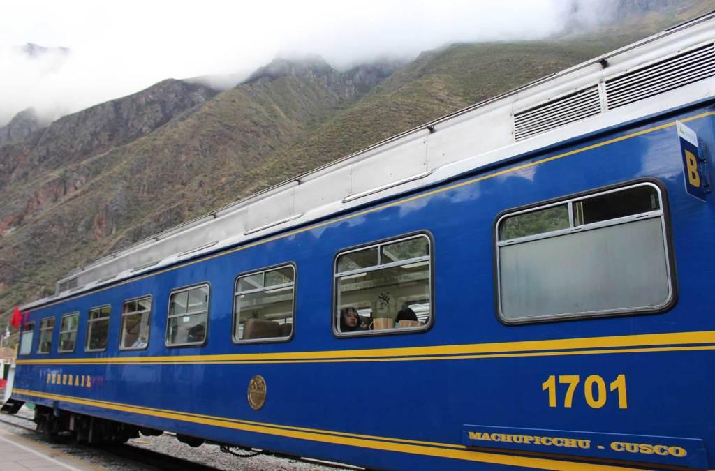 Como visitar Machu Picchu - De trem