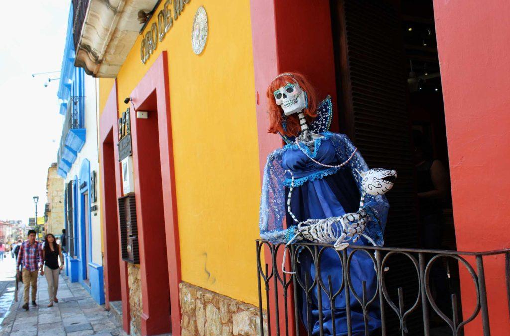 O que fazer no México - Zócalo de Oaxaca