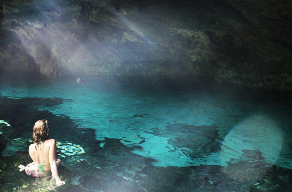 O que fazer no México - Cenote Dos Ojos