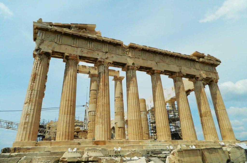 Quanto custa viajar para Grécia - Acrópole de Atenas