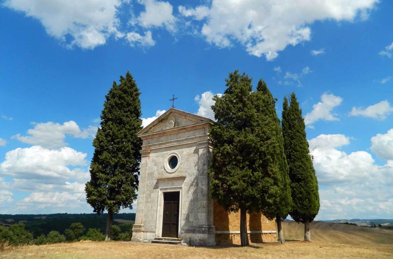 Roteiro na Toscana - Cappella della Madonna di Vitaleta