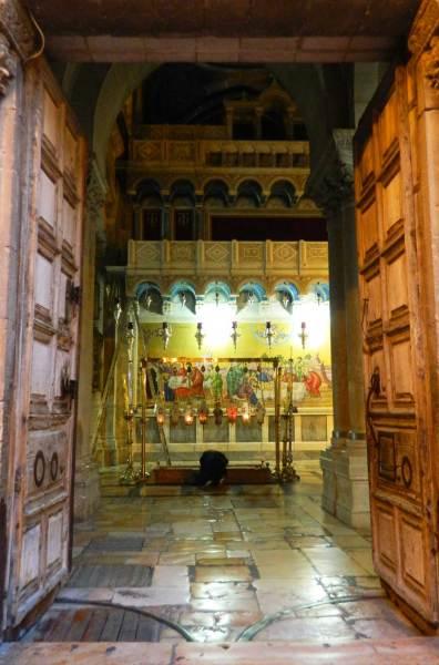 Roteiro em Jerusalém - Igreja do Santo Sepulcro