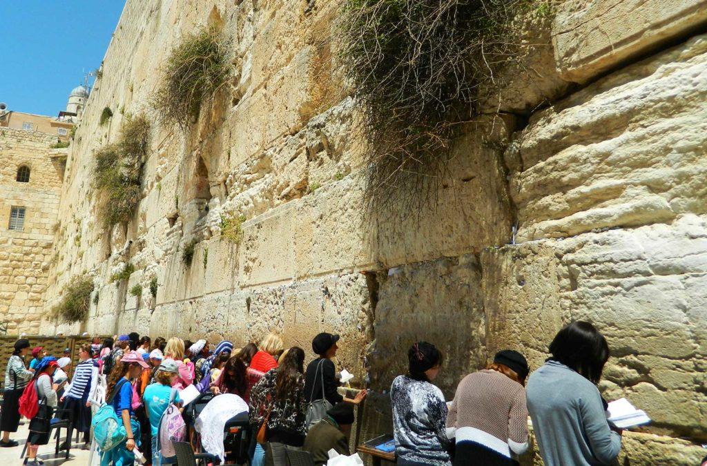 Roteiro em Jerusalém - Muro das Lamentações