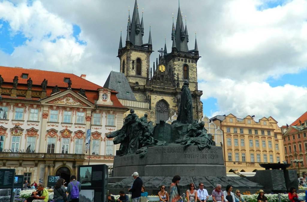 O que fazer em Praga - Praça da Cidade Velha