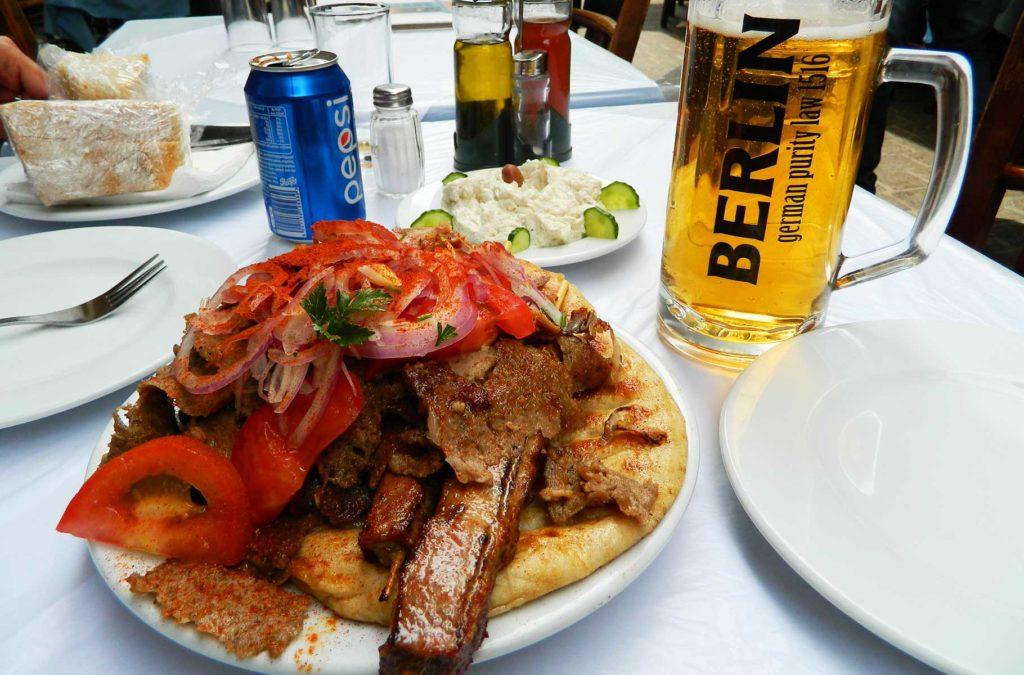 Dicas da Grécia - Comida boa e barata
