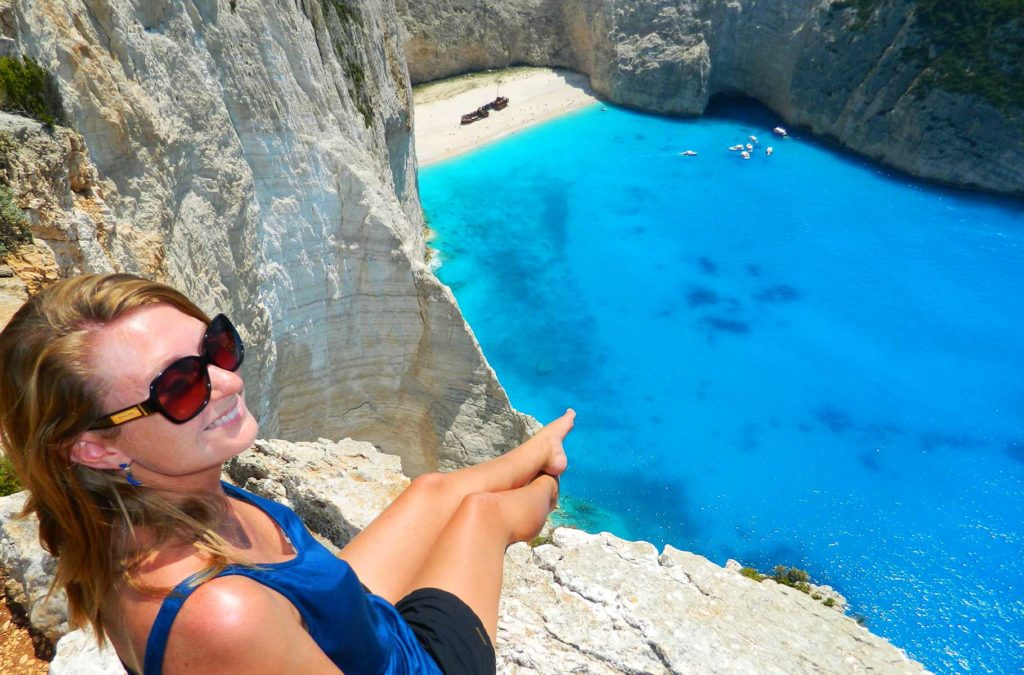 Dicas da Grécia - Praia de Navagio Beach