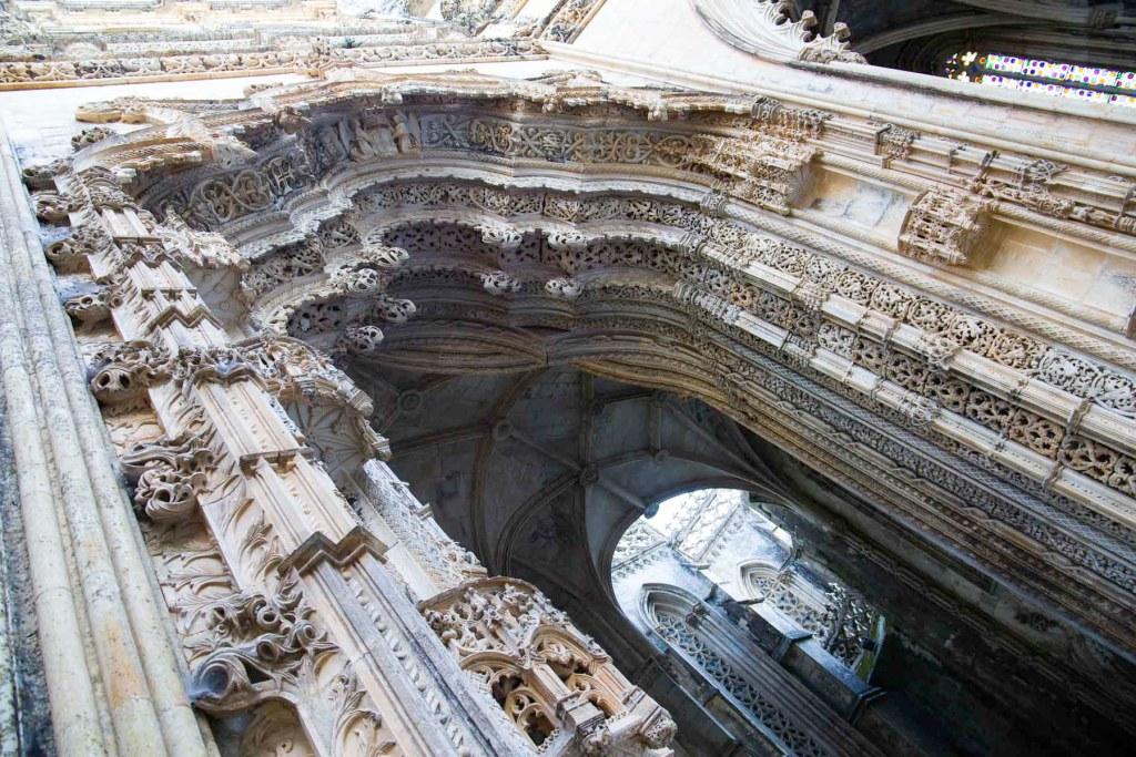 Capelas Imperfeitas, no Mosteiro da Batalha (Portugal)