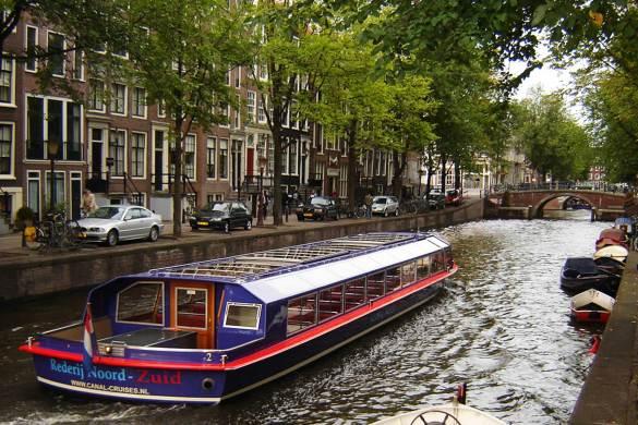 Cidades com canais pelo mundo - Amsterdã