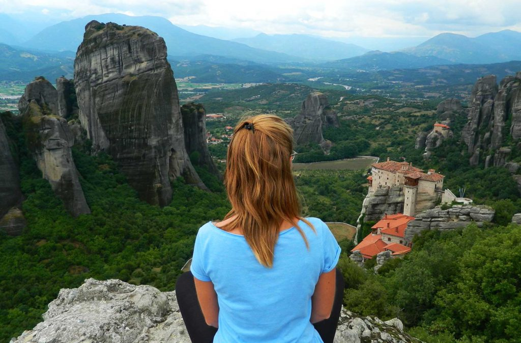 Lugares mais incríveis do mundo - Meteora (Grécia)