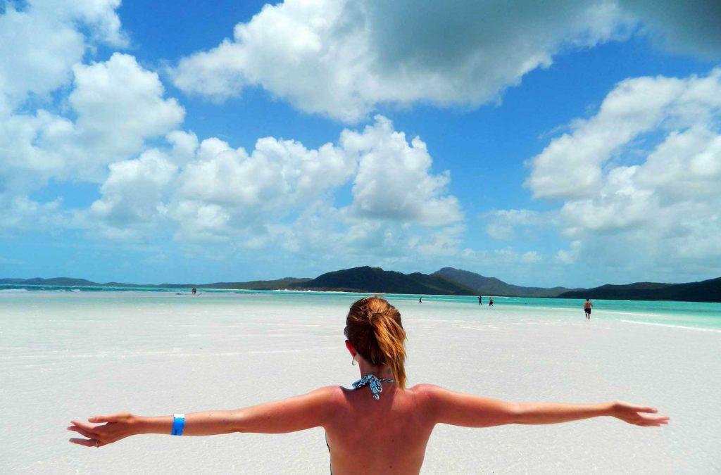 Lugares mais incríveis do mundo - Whitehaven Beach (Austrália)