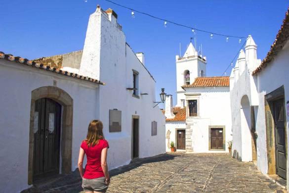 Vilarejo medieval de Monsaraz, em Portugal