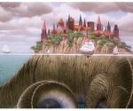 Fantasia - Cidade - Dinossauro