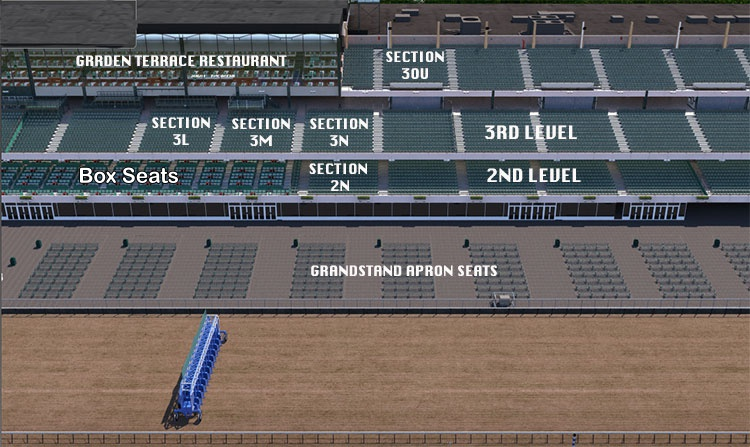 Belmont Stakes Seating Guide eSeats