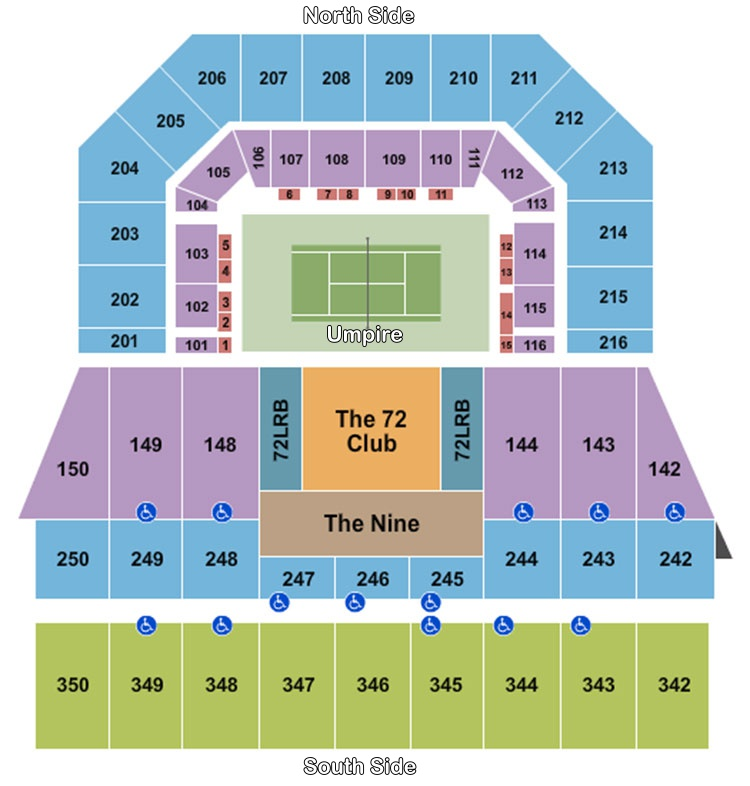 Miami Open Tennis Seating Guide eSeats
