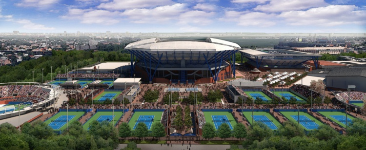 US Open Seating Guide eSeats