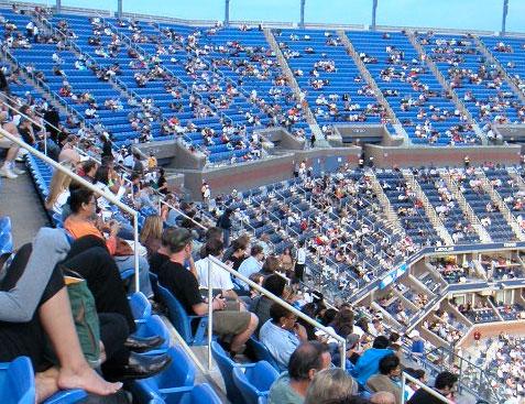 Us Open Tennis Arthur Ashe Stadium Seating Chart Elcho Table