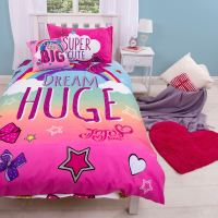 JOJO SIWA WITH THE BIG BOW SINGLE DUVET QUILT COVER SET ...