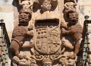 Escudo Palacio Rubín de Celis.