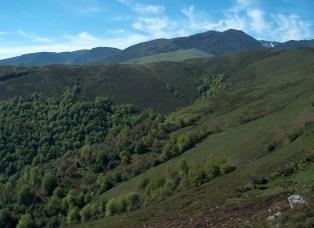 Área culminante del Monte Valfría