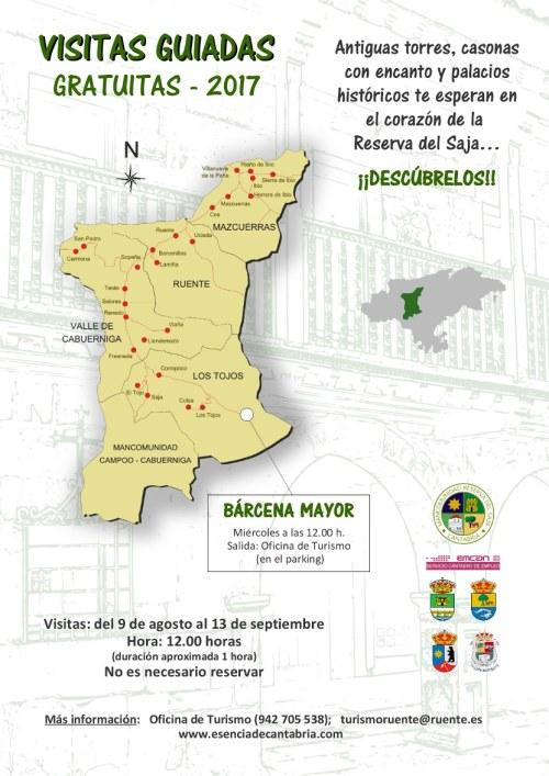 Visitas guiadas Mancomunidad Reserva del Saja 2017