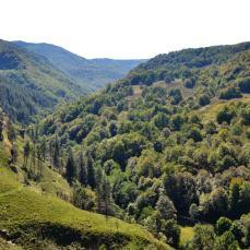 Panorámica del valle del río Lodar