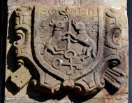 Escudo de armas de la casona de La Canal (s. XVII), Ucieda
