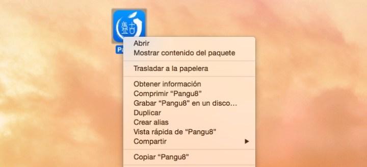 Abrir Pangu Mac