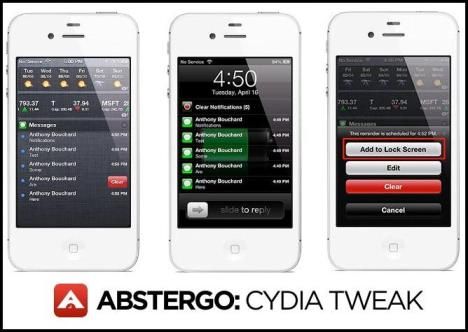 Abstergo Cydia Tweak