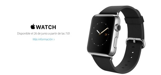 Apple Watch Spain