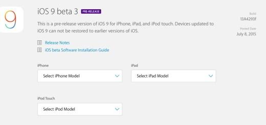 beta 3 de iOS 9