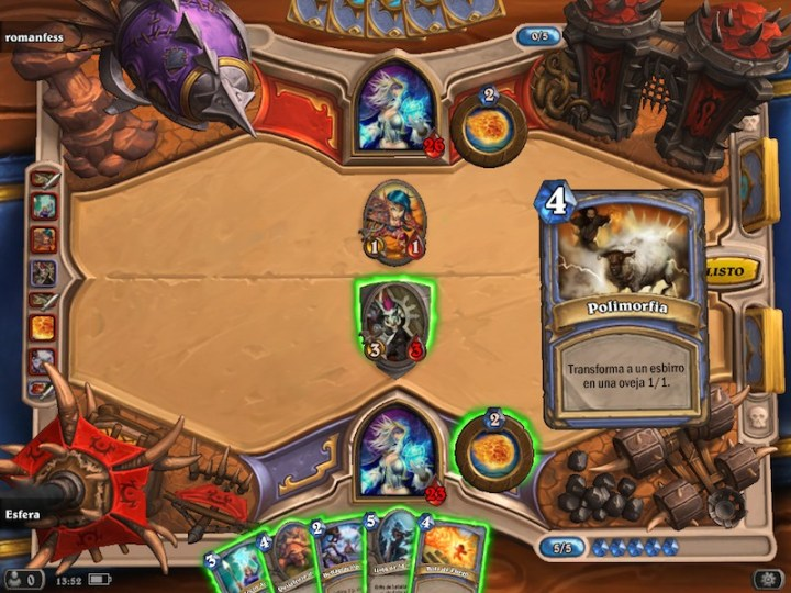 Hearthstone ya está disponible en todas las App Store