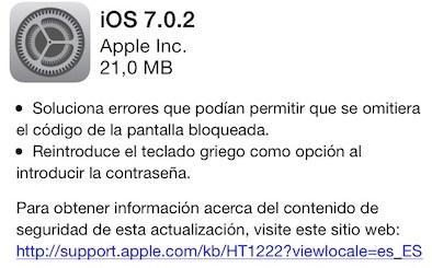 iOS 702 destacada